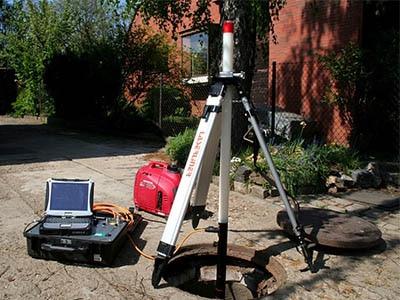 Debouchage egout par camera video avec support  400x300 - Comment déboucher une canalisation d'égout
