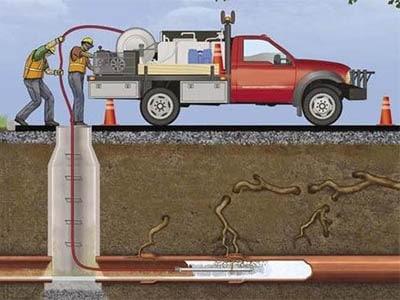 debouchage canalisation bouchee par racine 400x300 - Comment déboucher une canalisation d'égout