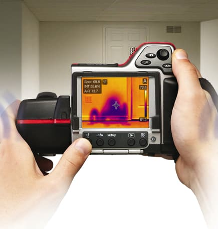 detection fuite eau camera infrarouge - Localisation de fuite d'eau dans vos canalisations