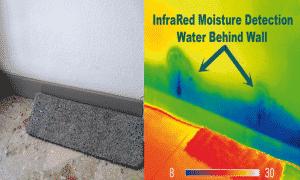 detection fuite eau camera thermique 300x180 - Localisation de fuite d'eau dans vos canalisations