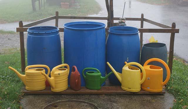 cuves récupération eau de pluie