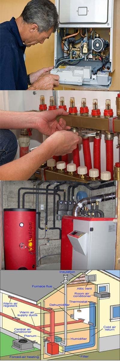 services de dépannage chauffage et réparation chaudière
