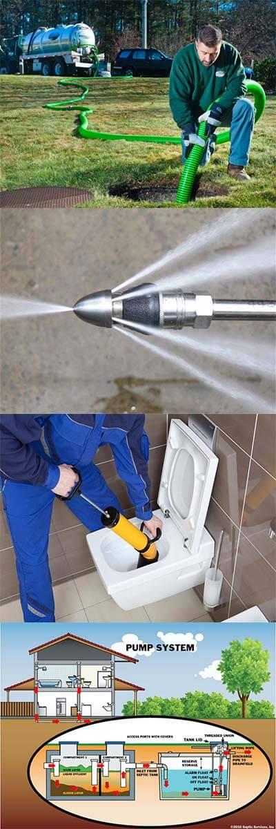 services de débouchage canalisation
