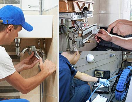 équipe des plombiers Express Plomberie Bruxelles